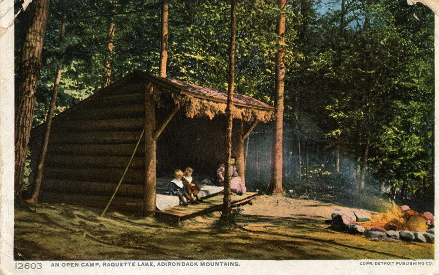 1910 An Open Camp