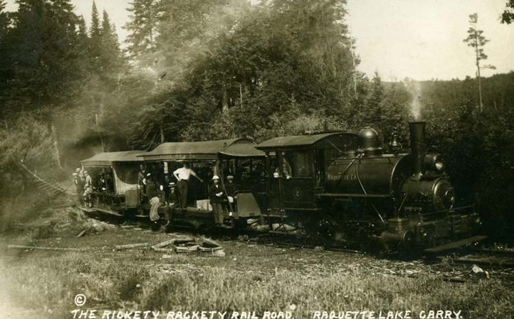 The Rickety Rackety Railroad Raquette Lake Carry